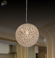 lyfs Modern LED Crystal ball shaped Chandelier Lights Lamp For Living Room Cristal Lustre Chandeliers Pendant Fixtures