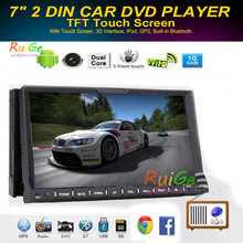 Wireless Reverse Camera+Universal 2 din android 4.2 Car Stereo GPS Navigation HD Capacitive Muilt-Touch Screen Video Audio +BT