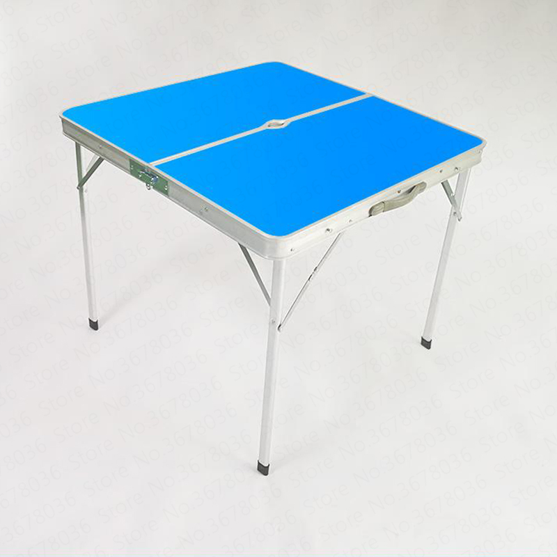 Outdoor Folding Table And Chairs Folding Table Square Small Square Table Picnic Home Mahjong Table Simple|Outdoor Tables| |  - title=