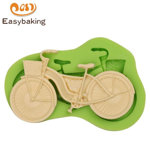 Neue Ankunft Mini Fahrrad Form Cookie Formen Kuchen Dekorieren Tools