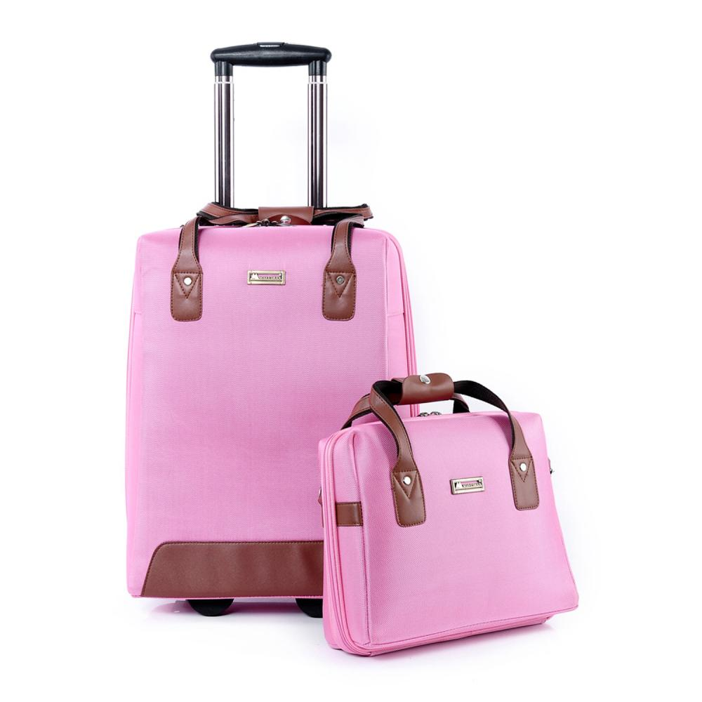 Aliexpress.com : Buy 2015 New Woman Luggage Travel Bag Rolling Bag ...