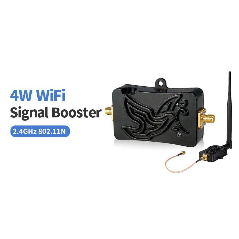 Comfast 4 W à Gain élevé 5dBi Antenne Bluetooth Wi fi Signal Booster Amplificateur pour 2.4 ghz pour Routeur Sans Fil 802.11 b/g/n carte
