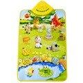 Delicado música som Farm Animal bebê crianças jogar Mat tapete tapete ginásio brinquedo Hot venda 50