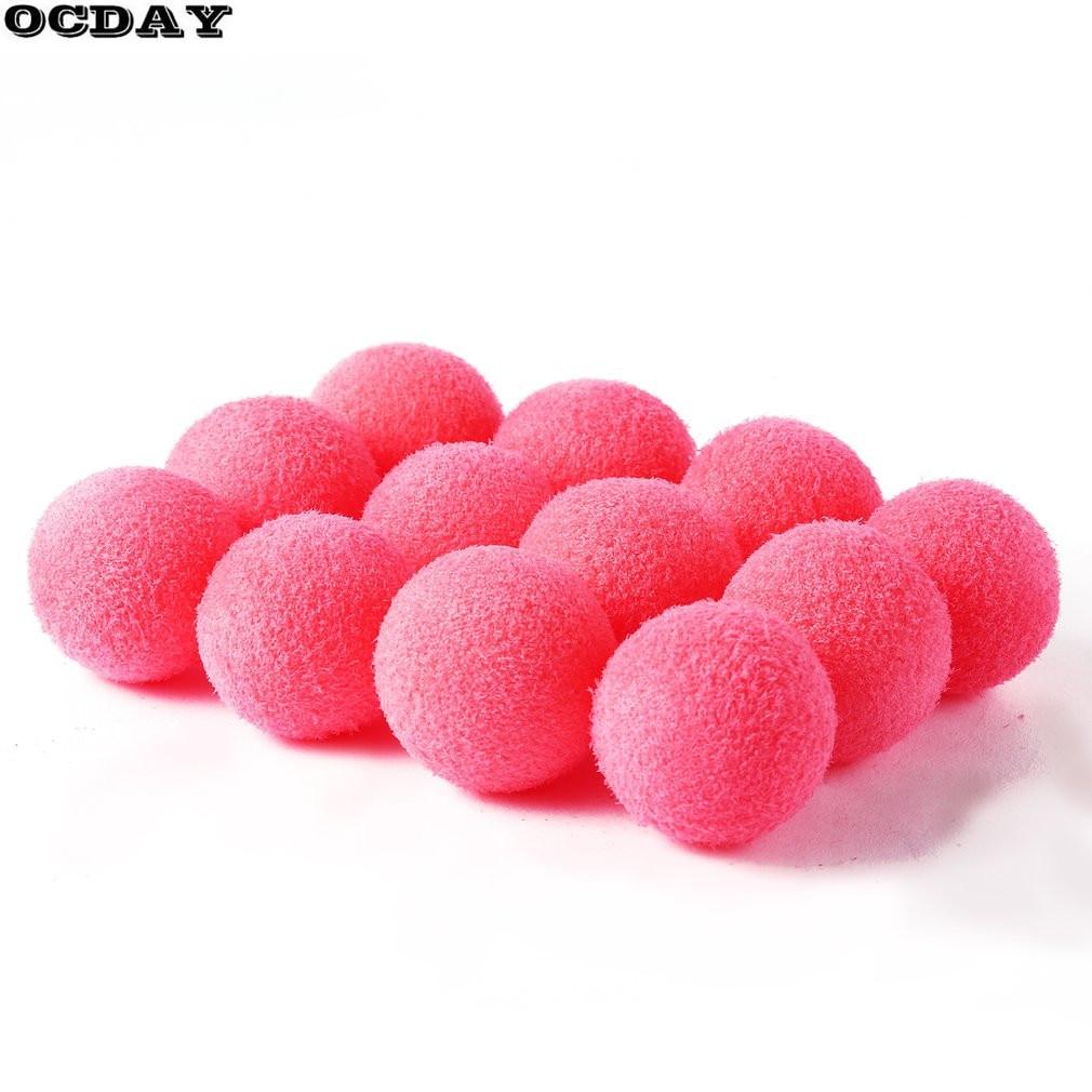 OCDAY 12pcs Foam Stress Relief Ball Sponge Foam Balls Hands Strength Squeeze Toys Children Adult Hands Exercise Toys Balls Hot