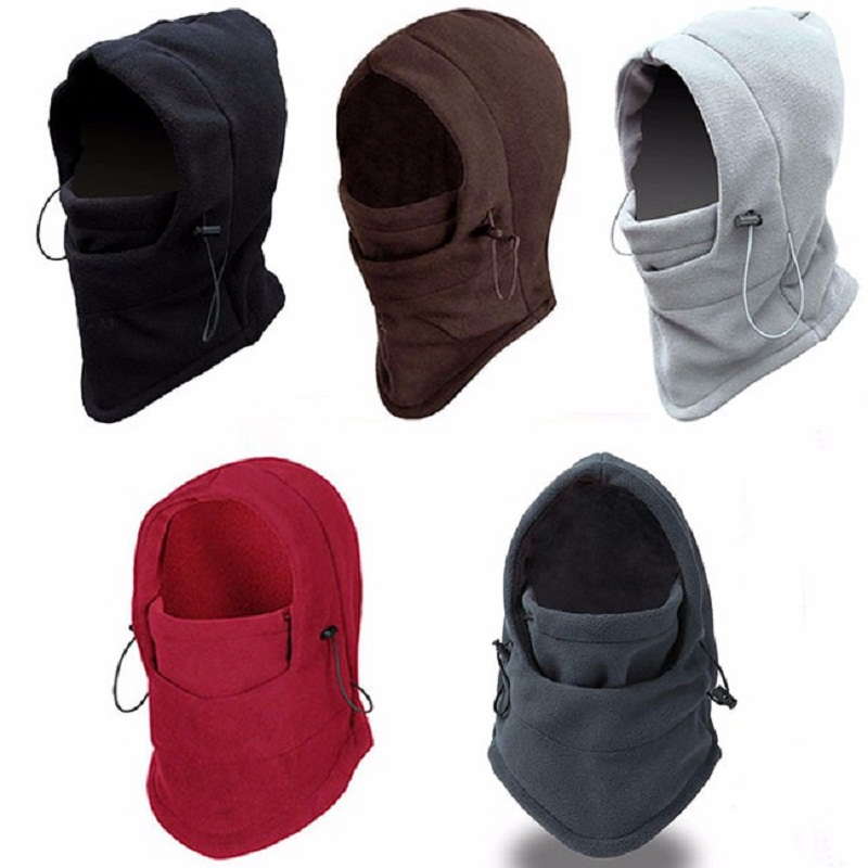 Face-Mask Beanies Hood Balaclava Wind Winter Fleece Bike And Soft S491 Swat Sand-Proof-Stopper title=