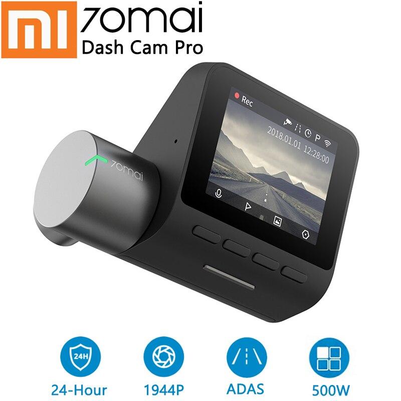 Xiaomi 70mai Traço Cam Pro HD 1944P Câmera Do Carro DVR Função Driver Avançado-assistência IMX335 140 Graus FOV aplicação do sistema de Controle