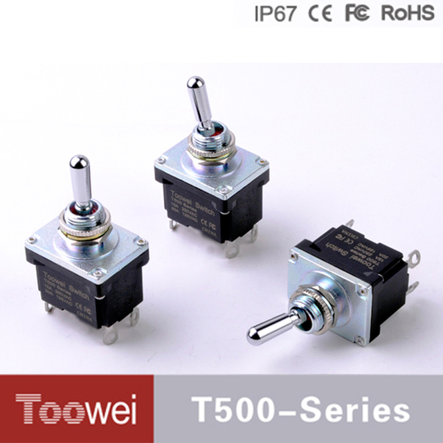 Double Pole On Off Toggle Switch - Wiring Diagrams •