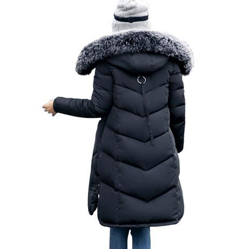 Aliexpress.com : Buy 2017 women's winter jacket big hair collar ...