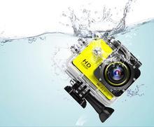 Full HD WI-FI 1080 P спорта и экшн-камеры 30 м Водонепроницаемый Камера 2 дюймов видео автомобиль Mini DV Дайвинг Pro Cam шлем Go для SJ4000