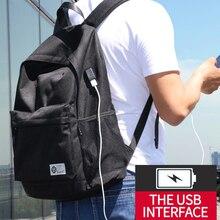 BJIAX Men Male Canvas Backpacks for Teenage Girls School Casual Rucksacks Women s 16 Laptop Travel