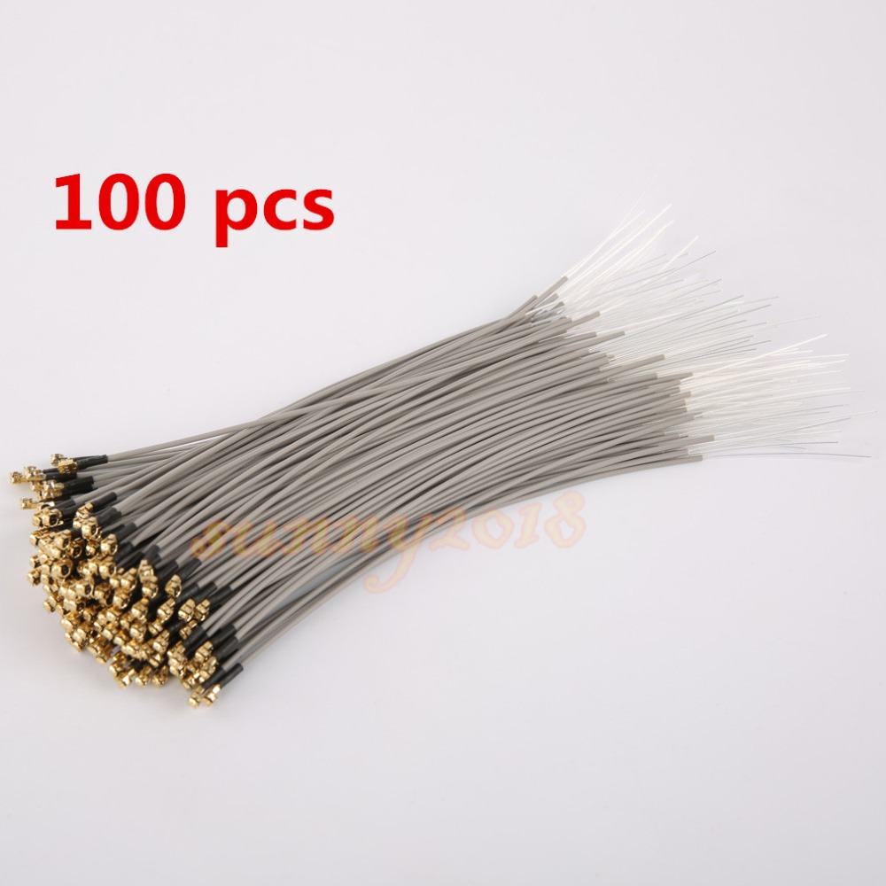100 pcs 2 4G wifi receiver antenna Bluetooth remote control model aircraft antenna built in gold