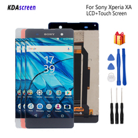 For Sony Xperia XA LCD Display Digitizer Assembly For Sony Xperia XA F3111 F3113 F3115 Display Screen LCD Phone Parts Free Tools