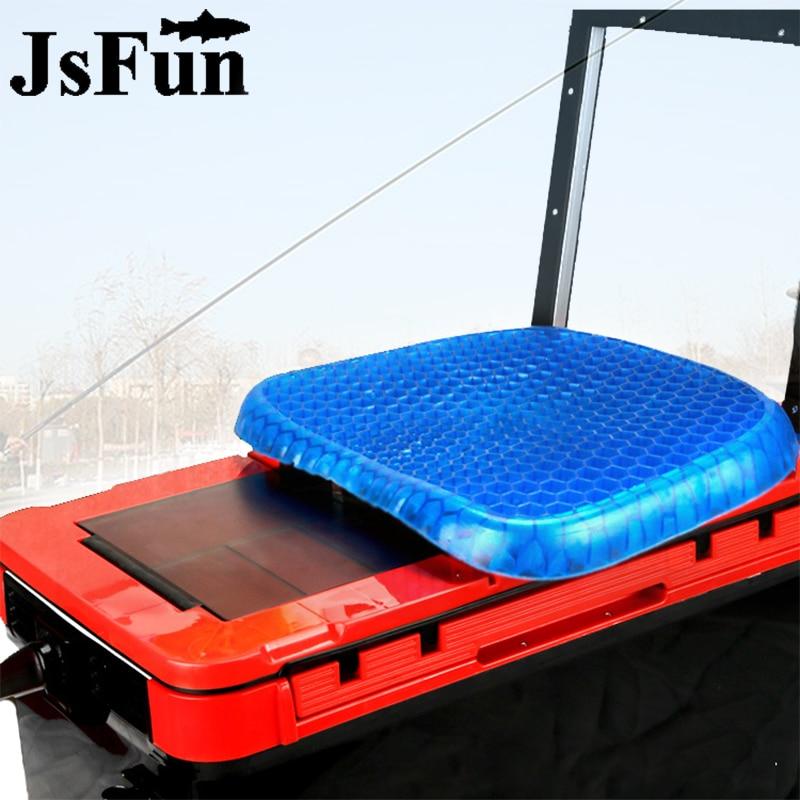 nova cadeira de pesca assento almofada casa almofada de gel macio elastico confortavel almofada do assento