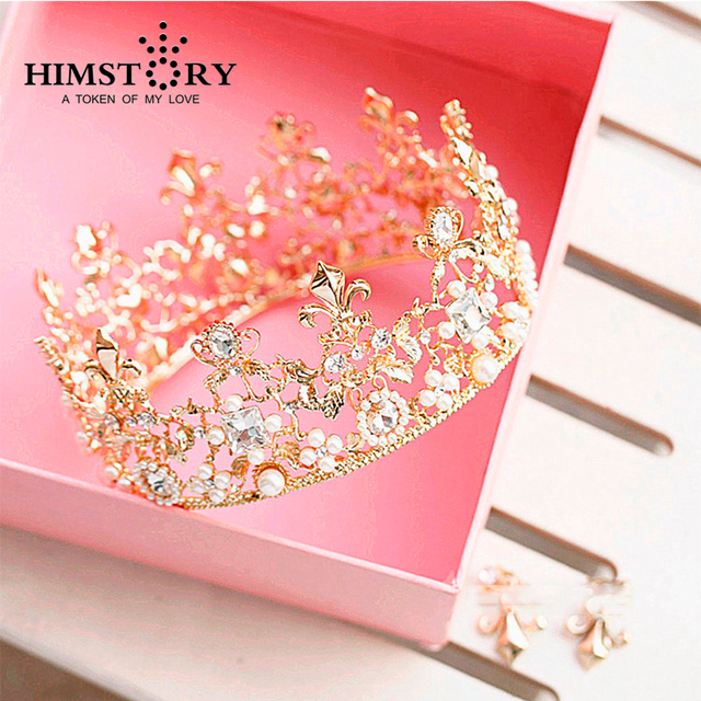 Huge Crystal Tiara Vintage Cross Round Bridal Hair Accessories For Wedding Quinceanera Tiaras And Crowns Pageant