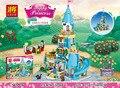 37008 561 Unids Anna y el Príncipe Castillo Kits de Edificio Modelo minis Bloques Ladrillos Niña Juguetes Para Niños brinquedos Regalo lepining