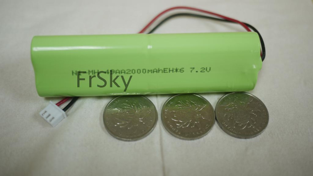 FrSky X9D font b Battery b font 2000An 7 2V transmitter font b Battery b font