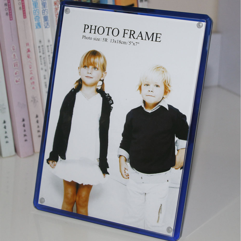 Pack 10 units black acrylic magnet picture frame tabletop photo pack 10 units black acrylic magnet picture frame tabletop photo frame sign holder kids frames pf028 in frame from home garden on aliexpress jeuxipadfo Choice Image