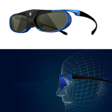 1pc Active Shutter Rechargeable 3D Glasses Support 96 120 144Hz For Xgimi Z3 Z4 H1 H2