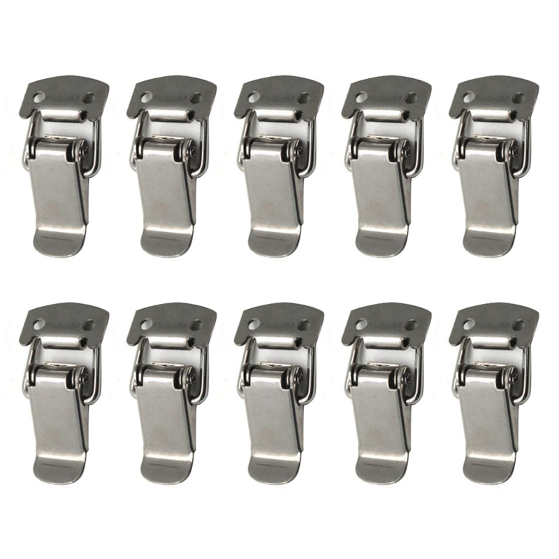 5 Set Stainless Steel Toggle Latch Catch Hasp for Chests Cases Hardware