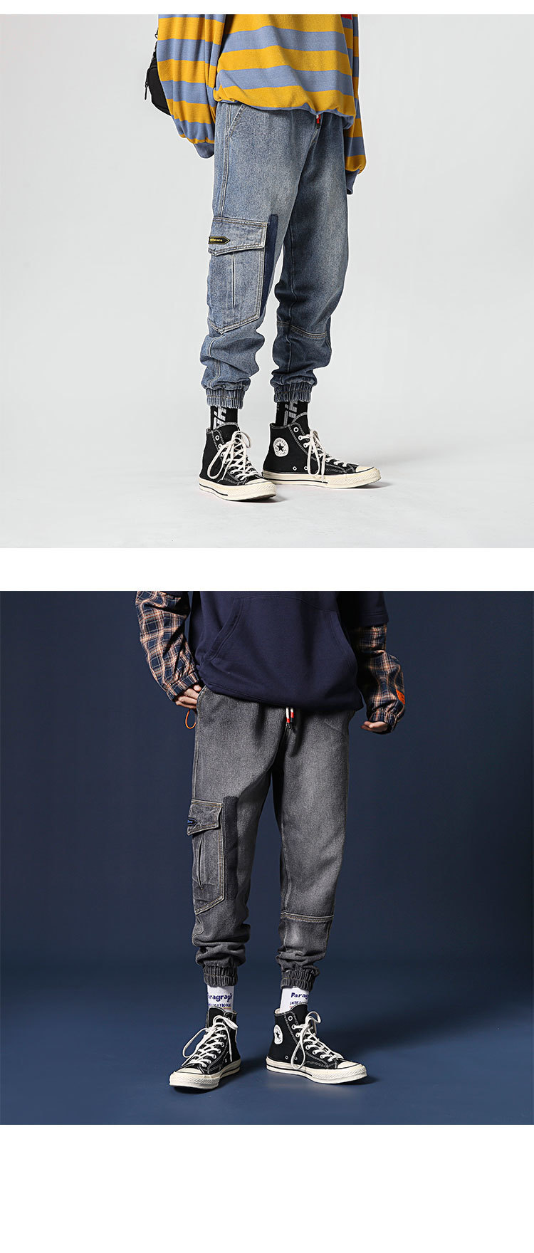 Pantaloni Uomini Degli Skinny 10