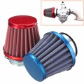 38MM 125CC Dirt Pit Bike Mini Motocross Motorcycle  Engine Air Filter For SDG /KLX /SSR  Red Blue