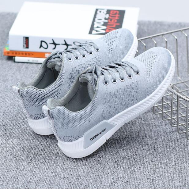2018 New Autumn Breathable Mesh Women Casual Shoes Vulcanize Female Fashion Sneakers Lace Up Soft High Leisure Zapatos De Mujer 4
