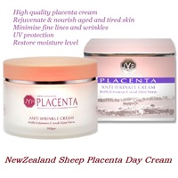 JYP Placenta de Ovelha Anti Rugas Creme de Dia Hidratante para pele seca Minimizar linhas finas & rugas creme hidratante Aloe Vera