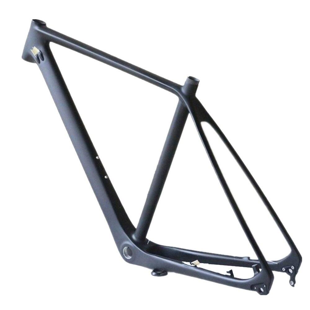 Hight modulus MTB 29er frame toray T700 carbon fiber disc brakes Di2 and machine compatible  mountain bike frame FM529(China)