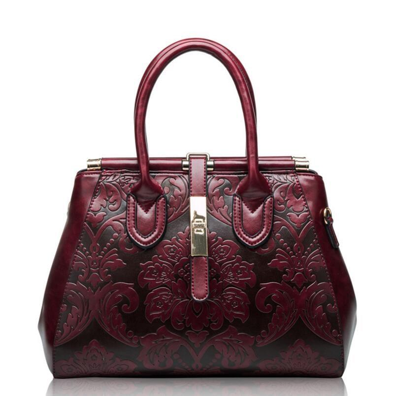 FoxTail & Lily Chinese Style Vintage Çiyin Çantaları Qadın Əsl - Çantalar - Fotoqrafiya 2