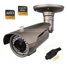 CCTV AHD 2.0MP 1080P 2.8-12mm Varifocal Lens IR-Cut Camera 1/3 Sony OSD