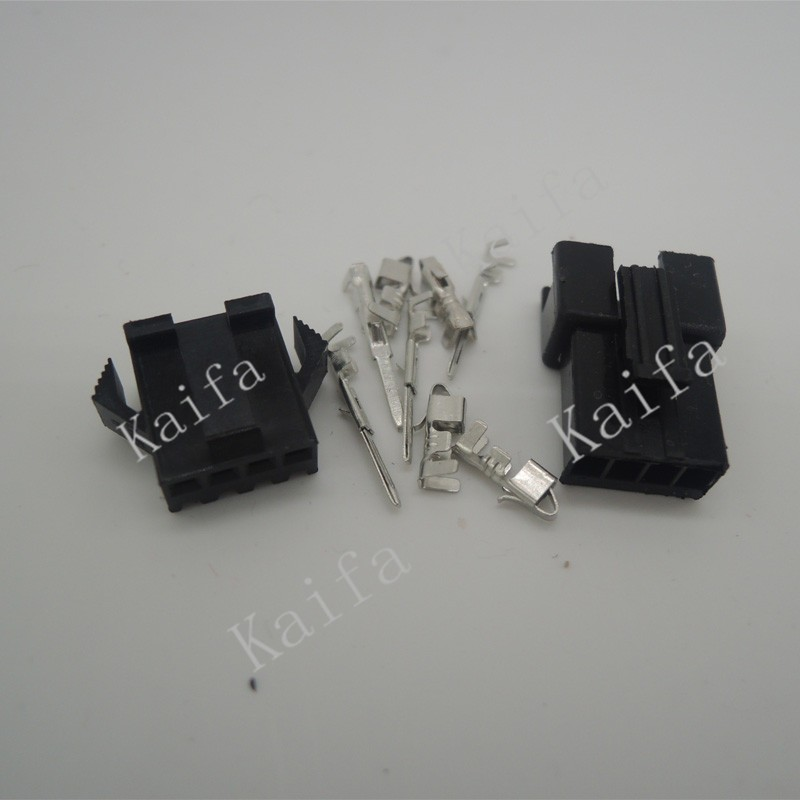(20sets/lot)(connectors|SM) SM 4Pin Pitch 2.54MM  Female and Male Housing + terminals  SM-4P SM-4R JST 2.54MM SM2.54 sm g361hhadser