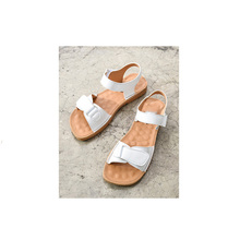 summer women shoes 2019 summer Sandals Flat   ladies shoes Genuine  Casual Fashion Sandals white Peep-toe beach shoes sandals women flat shoes bandage bohemia leisure lady casual sandals peep toe outdoor chaussures femme ete fashion shoes