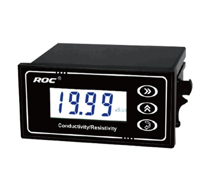 BRAND ROC Industrial Online Conductivity TDS Temperature Transmitter Monitor Tester METER Analyzer 4 20mA current output