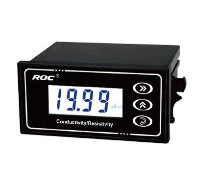 MARQUE ROC Industrielle En Ligne Conductivité TDS Température Émetteur Moniteur Testeur COMPTEUR Analyzer 4-20mA courant de sortie