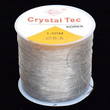 Rope String Cord Beading Bracelet/necklace Elastic Stretchy Strong Clear Transparent