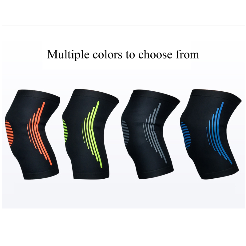 1Pcs Compression Knee Sleeve Breathable Knee Support Brace for Running Basketball Squats Weightlifting Arthritis and Meniscus 3