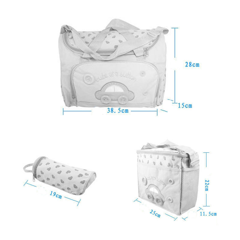 Fashion Maternal Storage package child Diapers breast milkLarge capacity storage bagBaby Travel Essentials Care Organization