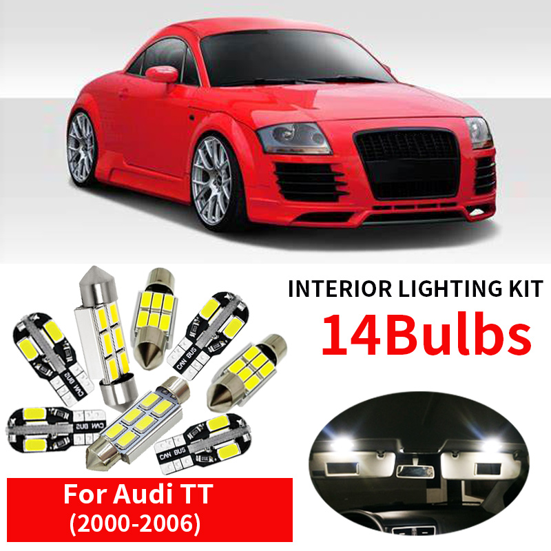 INTERIOR CEILING LED SMD Bulbs KIT BLUE CAN BUS fit Audi A5 S5 B8 SPORTBACK