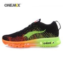 Onemix marca 2016 zapatos corrientes de los hombres de alta calidad zapatos deportivos de colores hombres deportes athletic shoes tamaño eu43-46 envío gratis