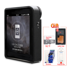 Shanling M1 Портативный Музыкальный Плеер Bluetooth Mini sport DAP DSD Lossless MP3