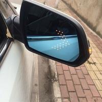Marke Neue Leistung Erhitzt Blau Weitwinkel Anblick Seite Rückansicht Spiegel Gläser Für Hyundai Ix25|view mirror|side rear view mirrorrear view mirror wide -