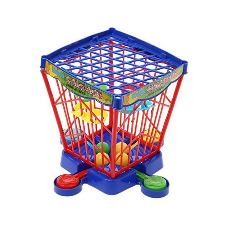 Children's educational pinball machine basketball cage desktop game parent-child interactive competition pinball game image