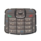 Mobile Phone Keypads Housing Replacement with Menu Buttons / Press Keys for Nokia N70