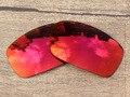 Поликарбонат-Огненно-Красный Зеркало Замена Линзы Для X Squared Солнцезащитные Очки Кадров 100% UVA и UVB Защиты