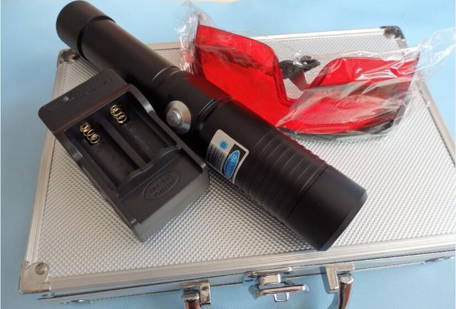 hot  50000mw 50W High Power  450nm  Blue Laser Pointers Flashlight Combustion 10000m laser pen lazer blue+box +charger
