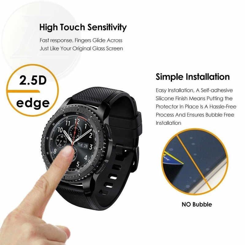Pelicula Screenprotector szkło ochronne dla samsung biegów s4 s3 s2 2 neo s Galaxy watch aktywnych ochraniacz ekranu ze szkła hartowanego
