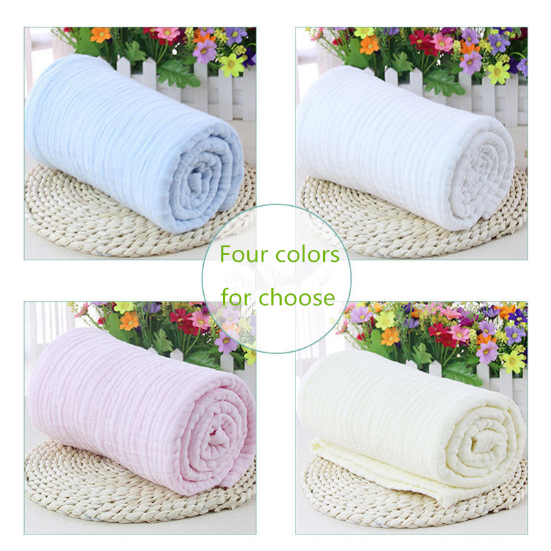 New Spring and Summer Baby Bath Towel Baby Towel Six Layers Gauze Towel TRQ1251