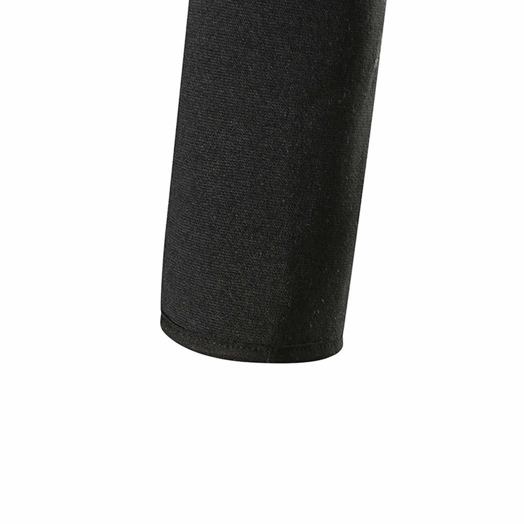 CHAMSGEND Мужская мода сплошной цвет с длинными рукавами с капюшоном свитер Тонкий Повседневный молния Толстовка Спорт Бег тренировочная рубашка