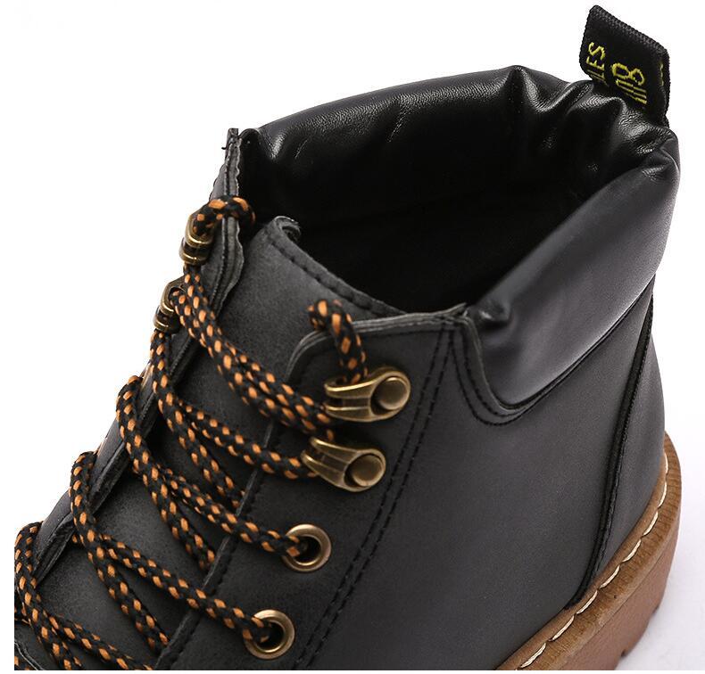 Amshca todos os jogos homens botas de trabalho outono lazer tornozelo boot para o homem adulto plataforma de segurança masculino bota cor preto cinza amarelo marrom - 3
