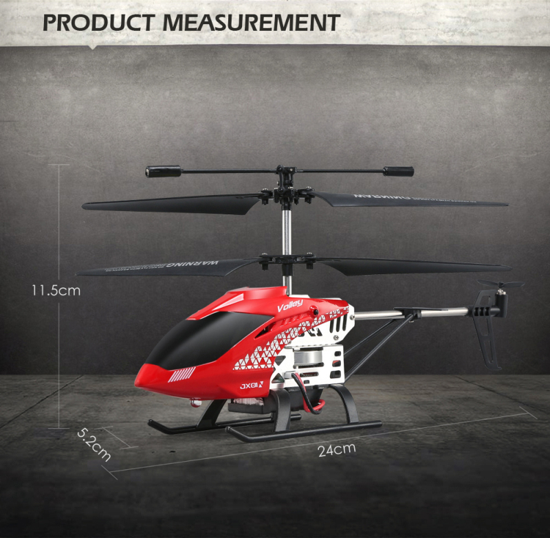 RC Helicopter Resistant Drone 18